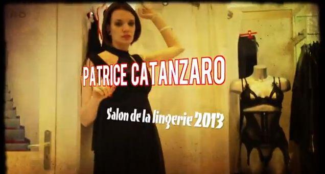 Patrice Catanzaro au Salon International de la lingerie Paris