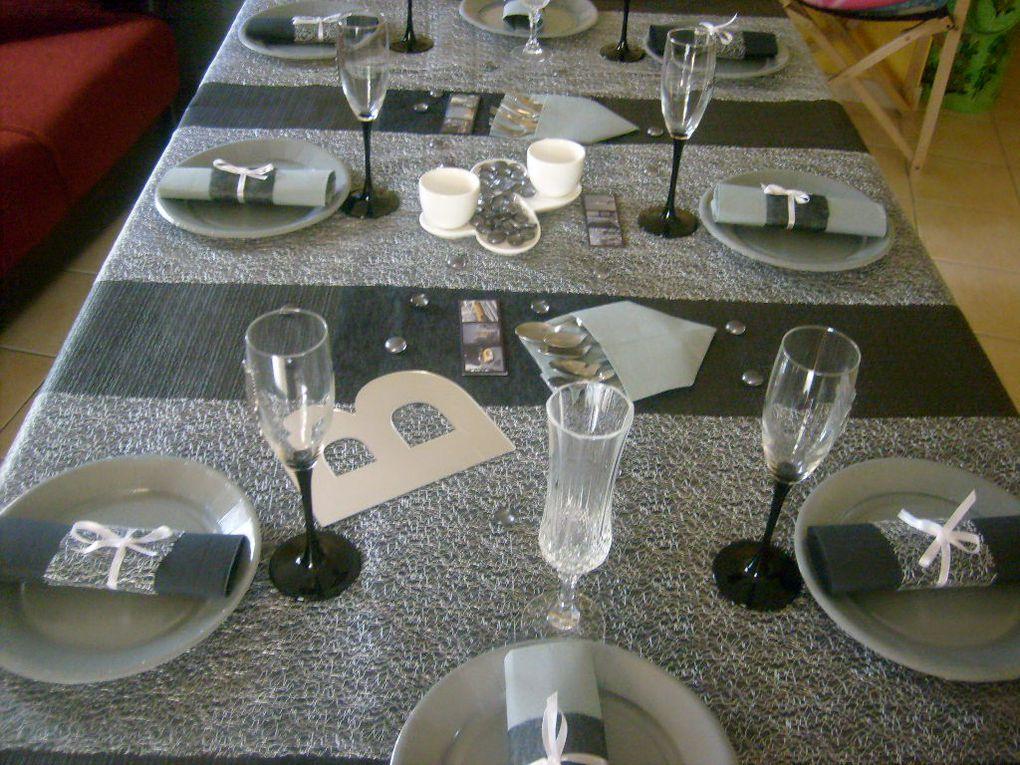 table faite pour mon fils Benjamin à l'occasion de ses 13 ans ,une déco qui lui ressemble et que j'adore ...