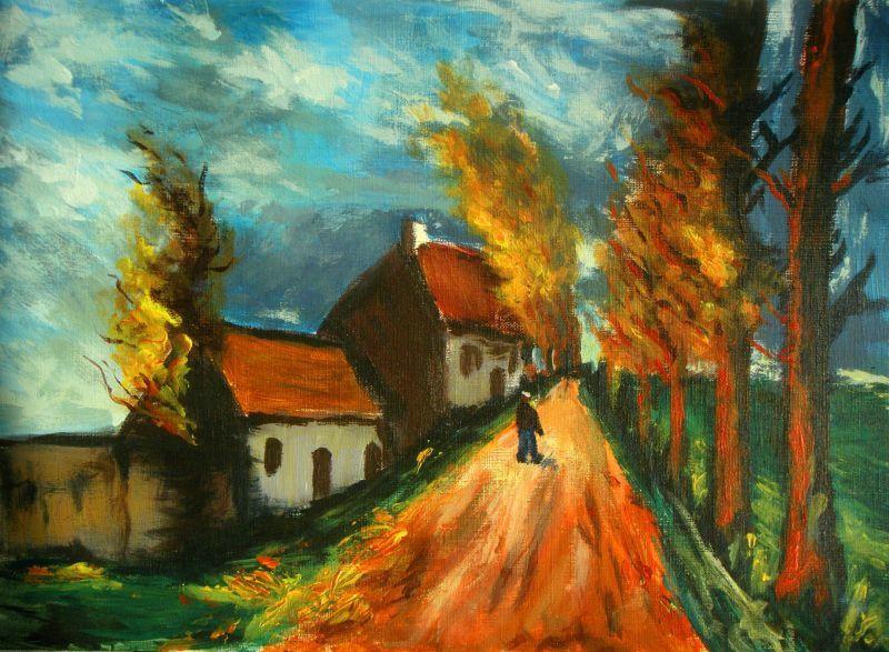 des peintures au fil de mes envies...