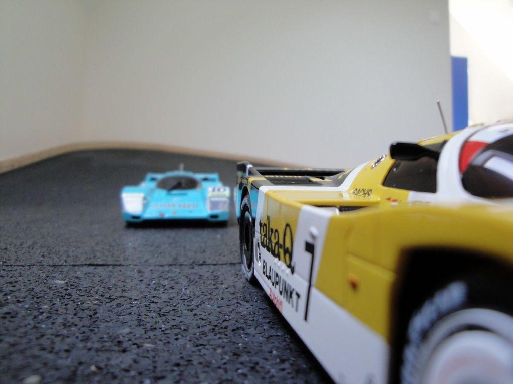 Les voitures que l'on peut retrouver sur notre piste.