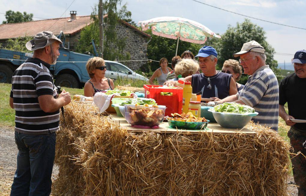 Fête du pain à Chambouttes - 14 août 2011