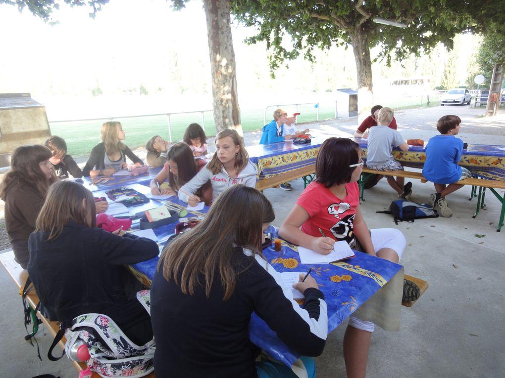 Camp été 2012 à Montmeyran - La Baume Cornillane
