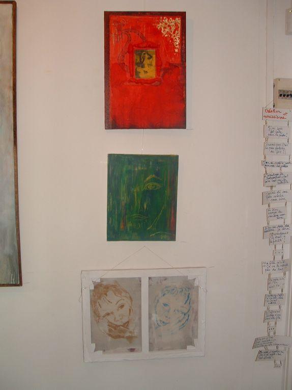 En 2005, l'exposition se déroule dans la petite salle de la MJC.