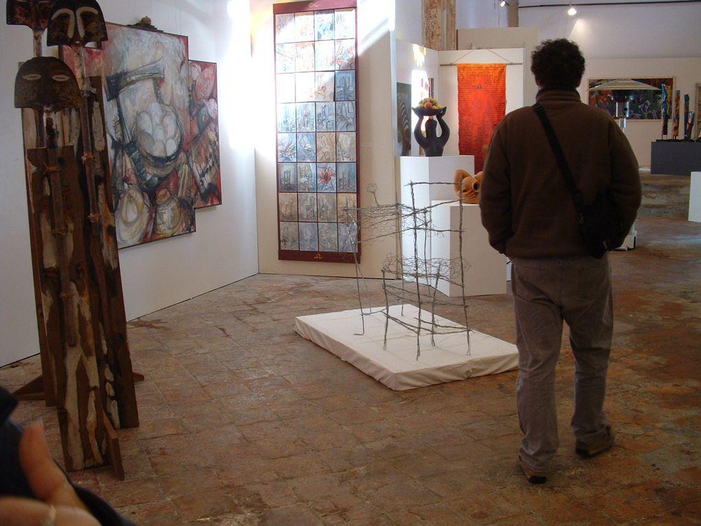 """""""Objet"""" en 2006 ...Chapelle des Pénitents noirs- Aubagne."""