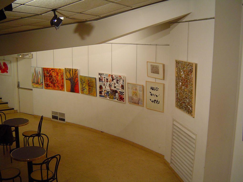 """"""" Lecture """" en 2004 ... Salle du Comédia - Aubagne."""