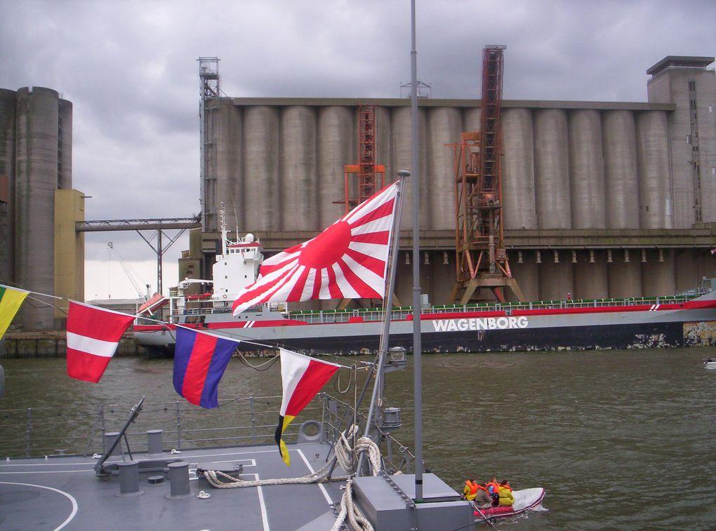 Petite ballade sur les quais de Rouen lors de l'armada.