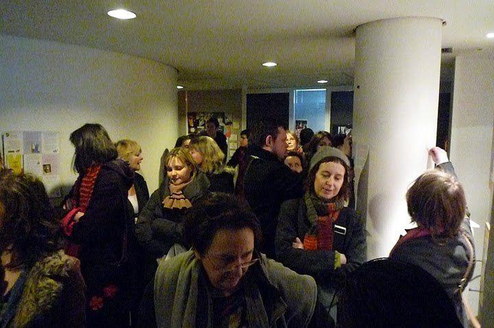 Albums photos du Comité de soutien à Livres au Trésor au Conseil Général du 93 le 11 mars 2010.