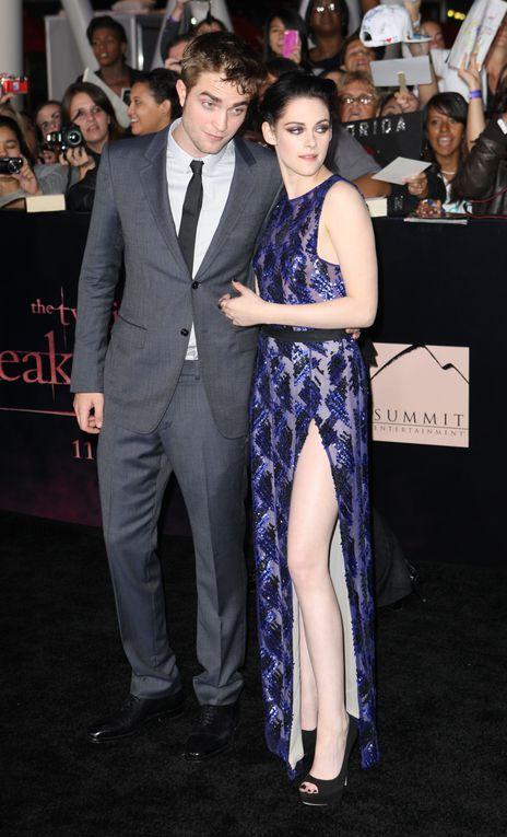 Toutes les photos des acteurs de Twilight Pour L'Avant-Première de Breaking Dawn Part 1