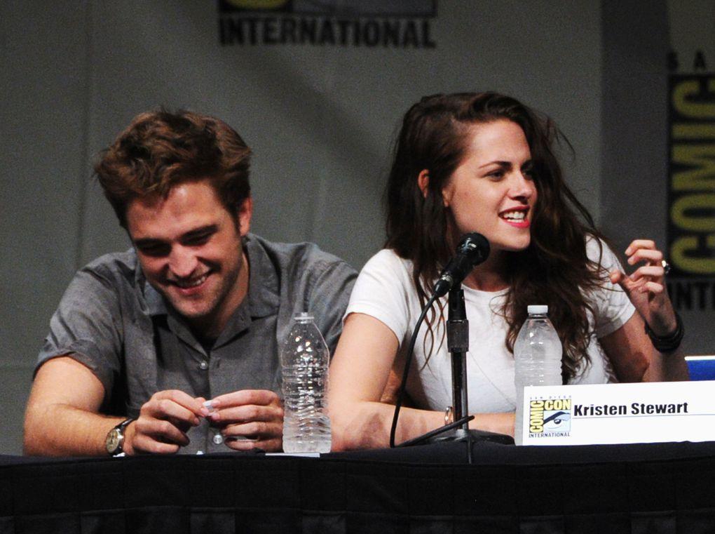 Toutes photos du Dernier Comic Con de la saga Twilight!by Twilight Morsure