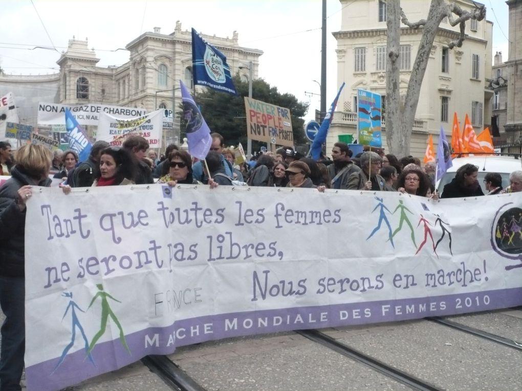 Forum Alternatif Mondial de l'Eau (FAME) tenu à Marseille du 14 au 17 mars 2012. Plus de 3 000 personnes ont participé aux différents ateliers. La manifestation du 17 mars a rasssemblé 5 000 personnes.