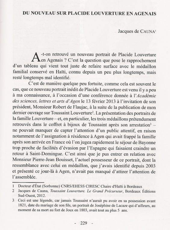 Dossier de documents récemment parus : articles, communications, interviewes...