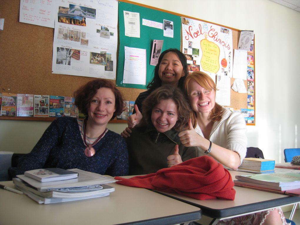 Année de cours à l'UIA en 2004 2005