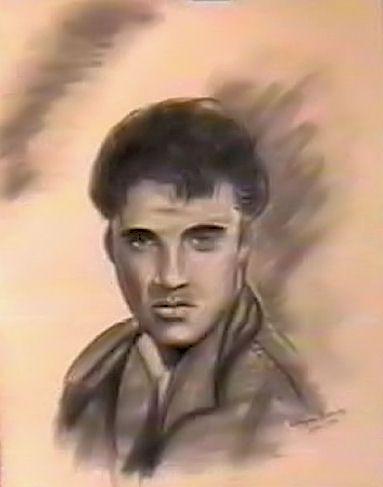 Album - Portraits-et-Dessins-Elvis-Presley