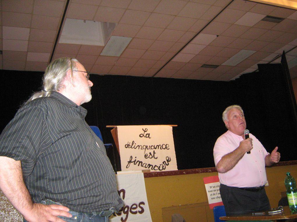 G. FILOCHE A MIGENNES LE 12 10 2010 SALLE JACQUES BRELDÉBAT SUR LES RETRAITES