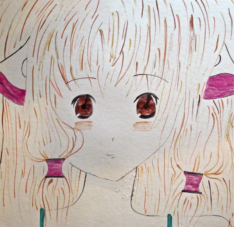 Productions de lycéens, collégiens ou écoliers pour l'opération manga proposée par la bibliothèque de Limeyrat du 6/12/2011 au 21/01/2012