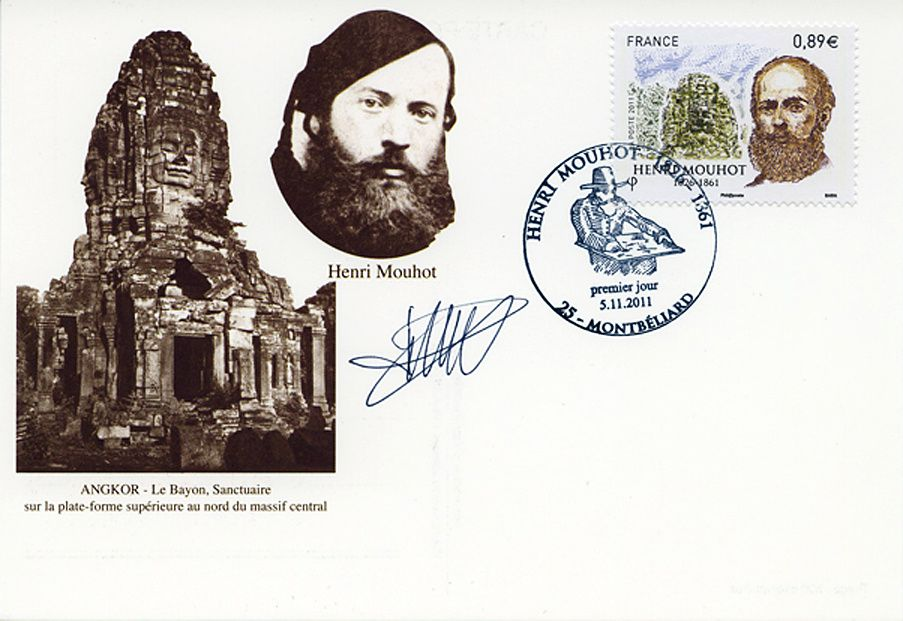 Deux journées pour une manifestation commémorative et à l'occasion de la sortie d'un timbre poste à l'effigie de Mouhot.
