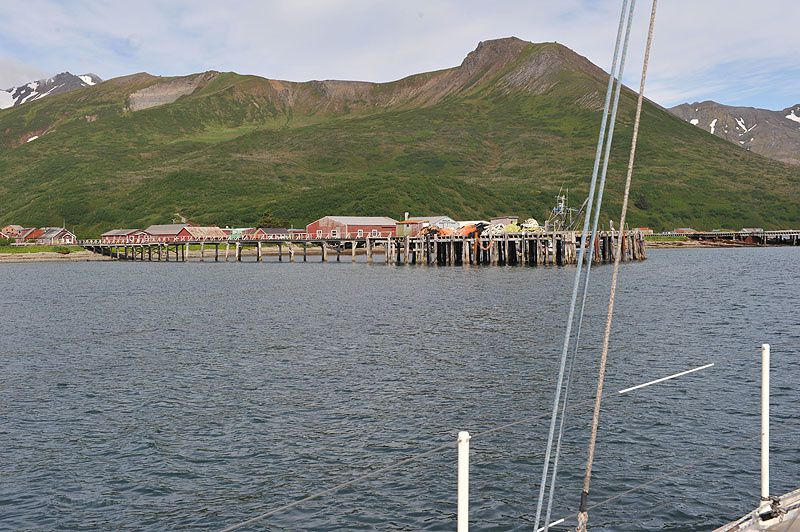 De Dutch Harbor à Sand point
