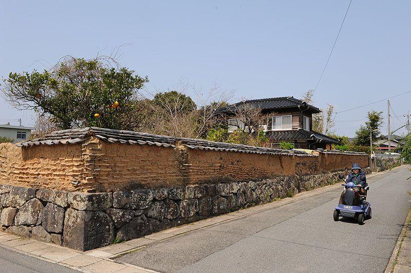 la cote sud ouest honshu , hagi