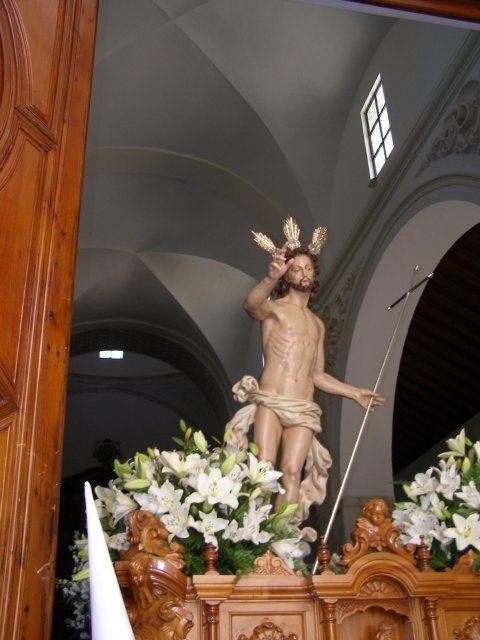 Hermandad nacida en el año 1989 y compuesta unicamente por mujeres. Antiguamente el Señor Resucitado era procesionado cada año por una Hermandad diferente.