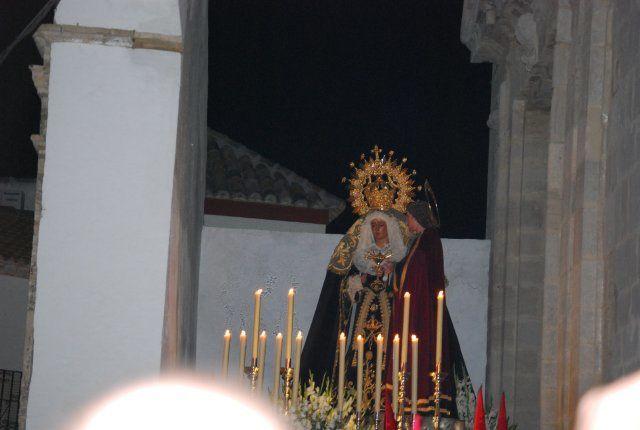 Hdad. Santísimo Cristo Amarrado a la columna y Ntra. Sra. de los Dolores
