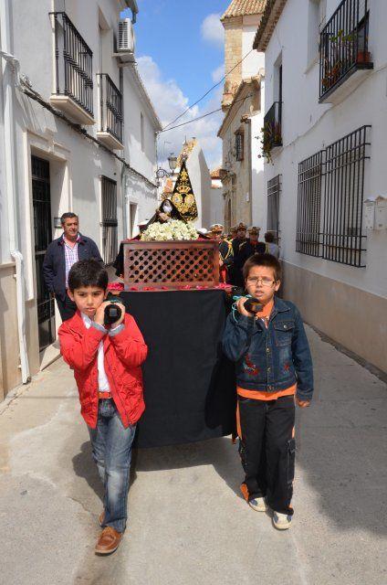 Aquí os dejamos un centenar de fotografías de la última edición de la Semana Santa Chiquita, que se celebró el pasado 1 de mayo, festividad de San José Obrero.