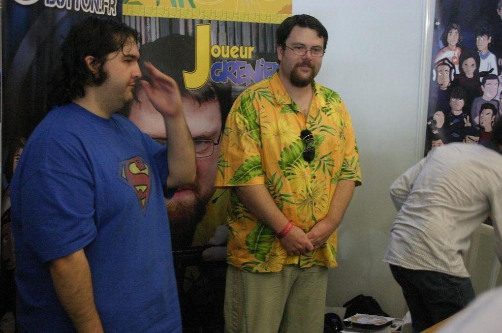 Aperçu de la Japan Expo / Comic-Con 2011 avec le stand MO5.COM
