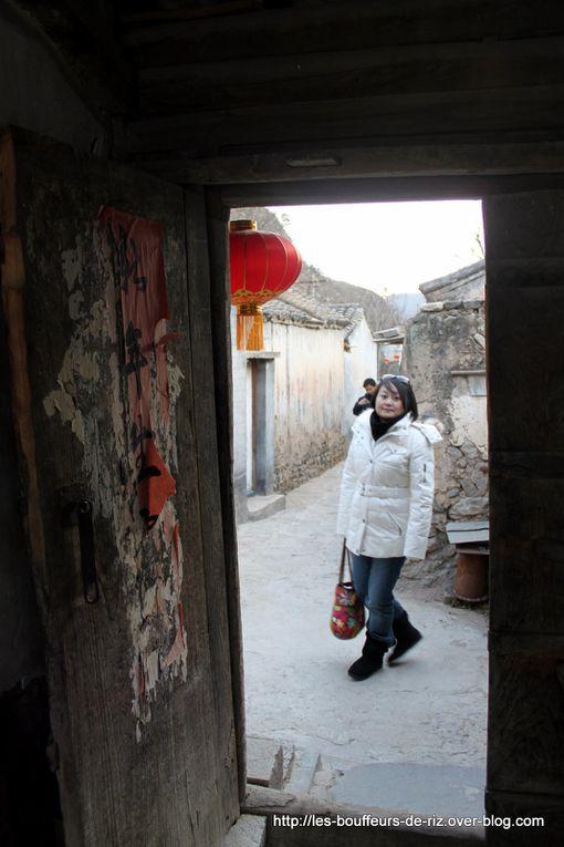 Cuandixia, prèsde Pékin en ChinePetit village authentique