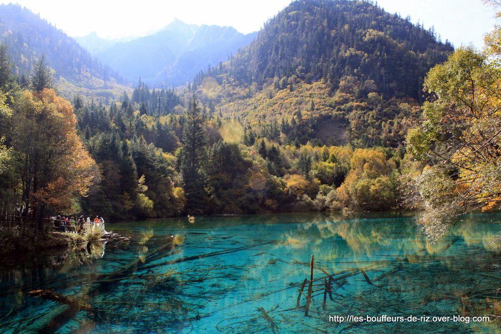 Superbe parc national de Chine