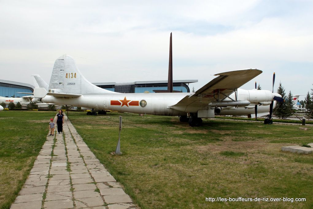 Musee de l'aviation pres de Pekin