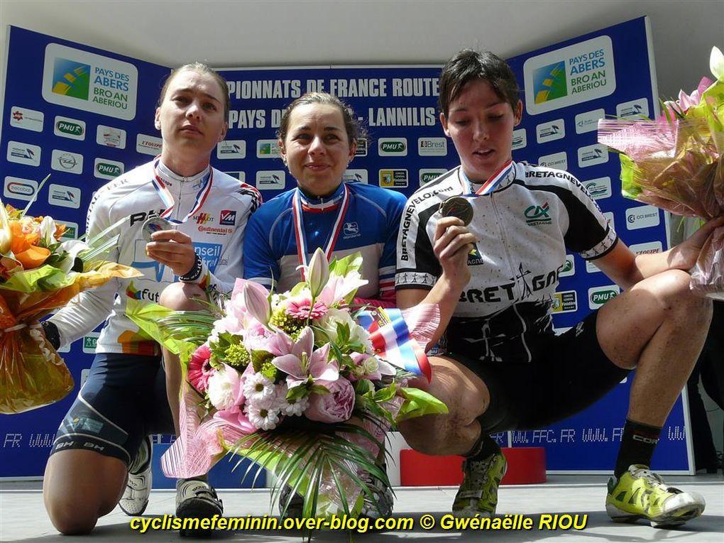 22 juin 2013 à Lannilis (29)championnat de France routephotos Gwénaëlle RIOU