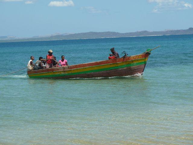 Sortie à la plage  pour la fin d'année à Ramèna