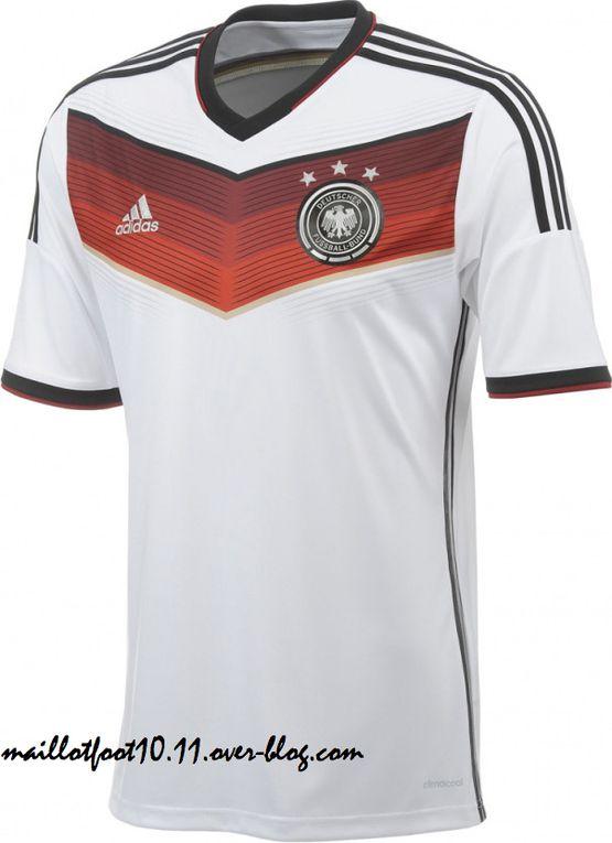 Les maillots de la Coupe du Monde 2014 !
