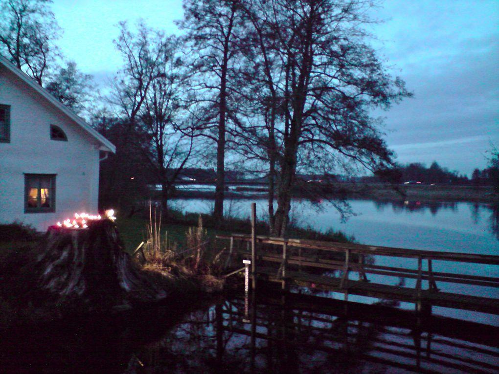 Marché de Noël de Huseby. Une semaine de festivités à 20km de Växjö.