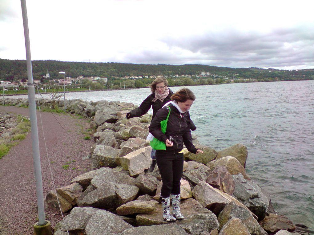 21 sept 2010Petit trip au Nord de Växjö autour du lac de Vättern dans les villes de Jönköping et Gränna.