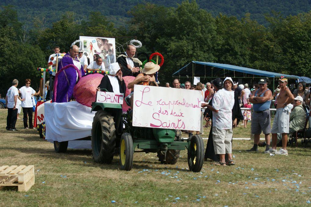 Comice agricole de St Albin de Vaulserre.Fête de l'attelage à Virignin