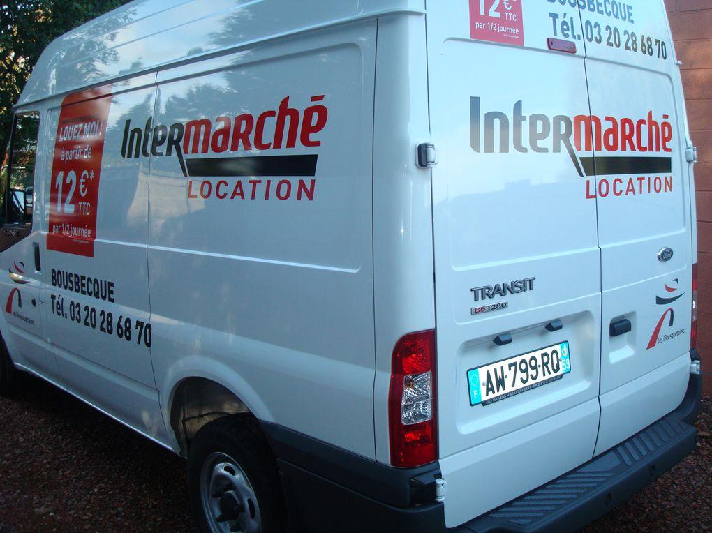 nettoyage interieur et extèrieur des camionettes de location intermarché