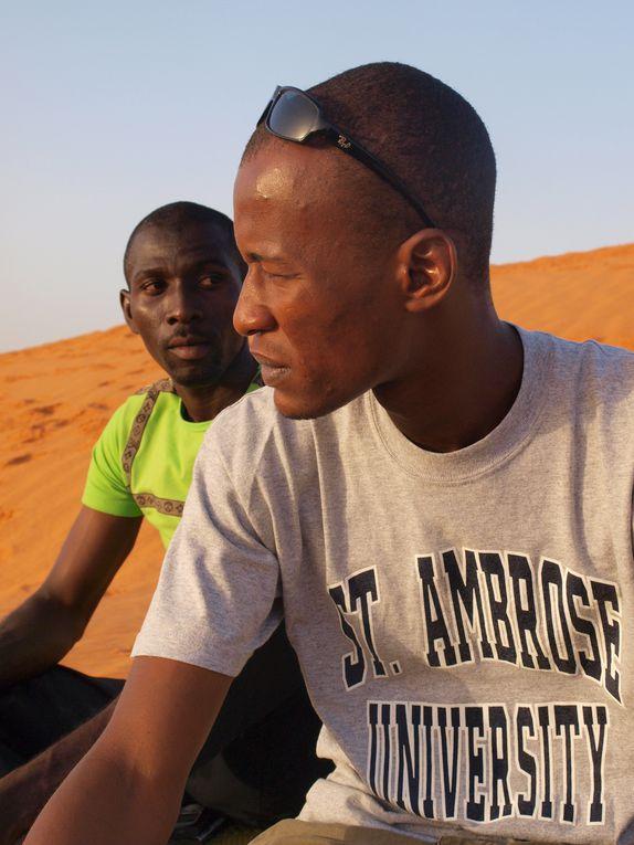 Dune de sable fin située non loin de la capitale. Calme et fraîcheur recherchés en fin de journées pressées à Niamey...