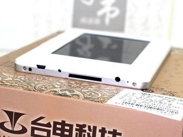 e-reader de fabrication Chinoise à $102.