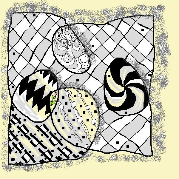 The Zentangle Weekly Challenge by the Diva