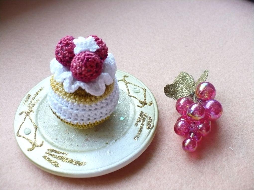 Album - petits gâteaux chantilly framboises