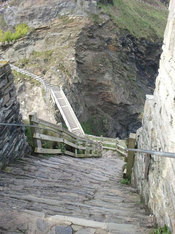 Tintagel Castle est imprégnée de légendes Arthuriennes et de mystères, on dit que c'est le berceau du roi Arthur.