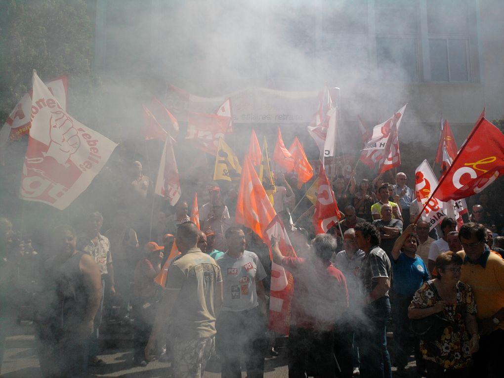 Manifestation du 27 Mai 2010à Alès