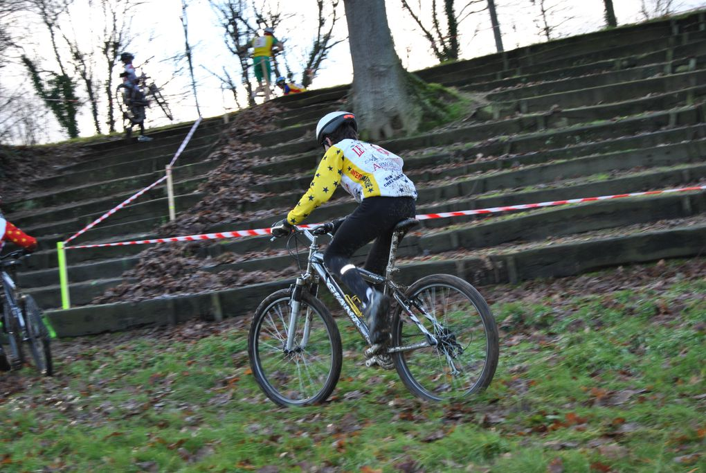 Premiere compétition de l'année 2011 le lendemain du premier entrainement du club Plaintel Vélo Star