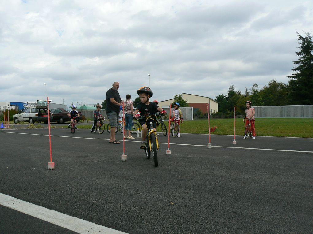 Premier entrainement de l'année 2010 2011 du club Plaintel Vélo Star