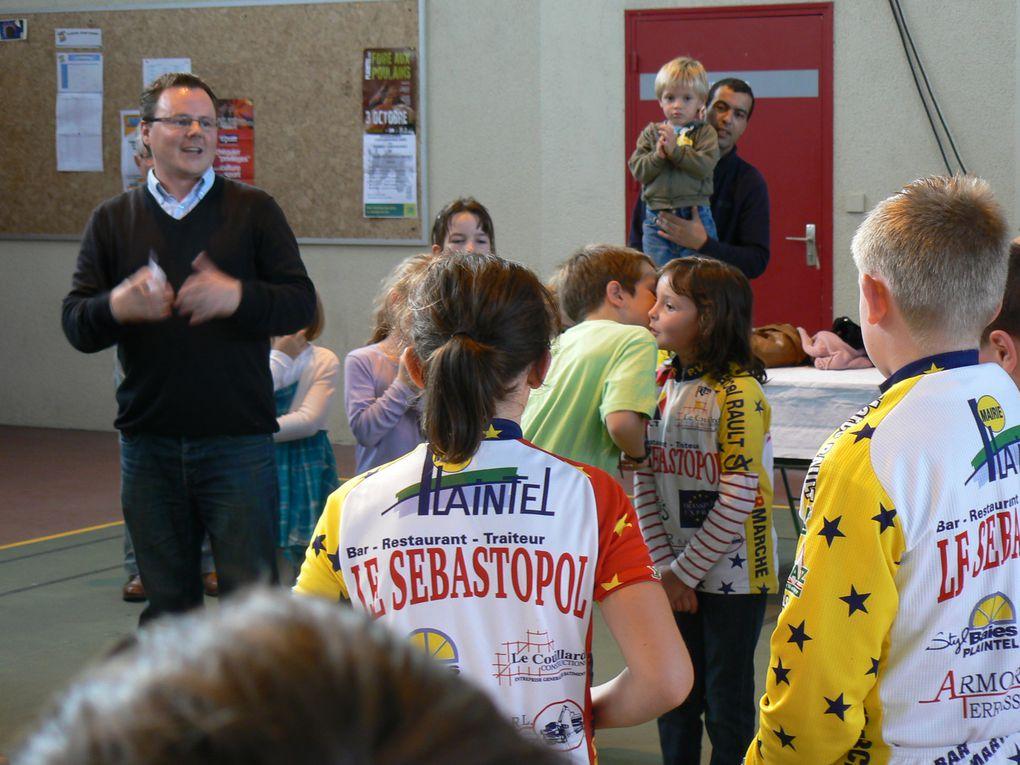 Plaintel Velo Star débute cette nouvelle saison 2011-2012 par le Forum des associations à Plaintel