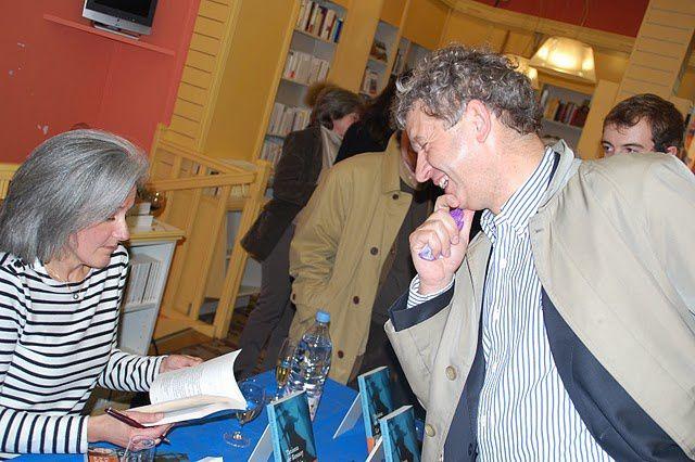 """signature """"Le voisin"""" (EHO) Lancement le 7 avril 2010 à l'Escale Littéraire, sortie de """"Boomerang"""" au livre de poche"""