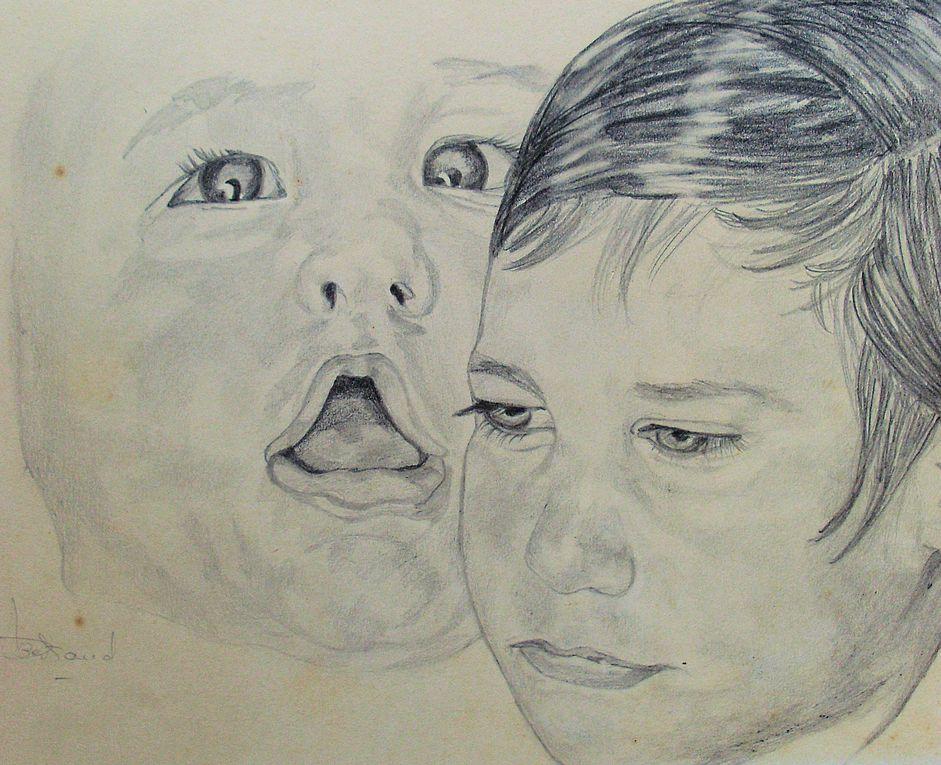 Tous les dessins sont réalisés au Crayon.Tous formats à votre disposition.                                        Pour me contacter:joelle.bertrand@yahoo.com