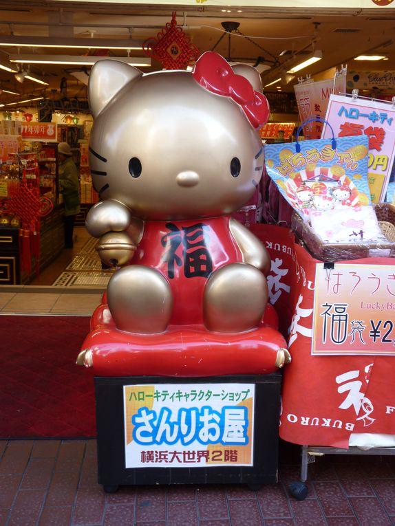 Journée à Yokohama pour le nouvel an chinois le 03/02/2011