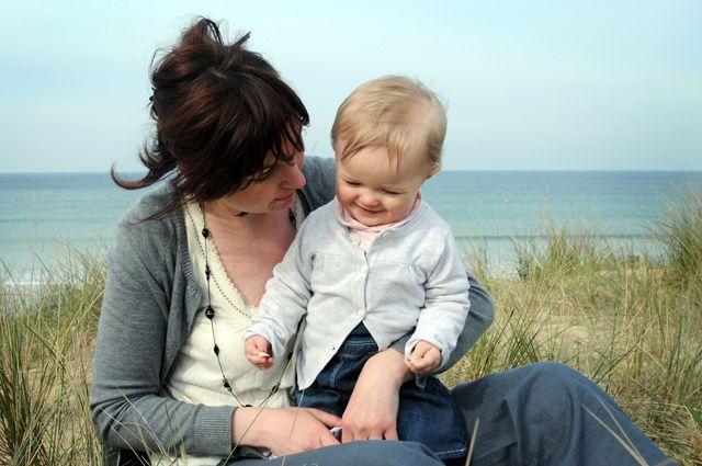 séance photo sur la plage de Ste Barbe à Plouharnel