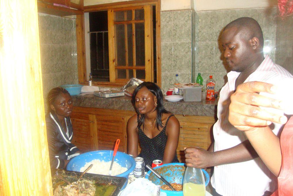 Soirée organisée al'occasion de la célébration du cinquantenaire de l'indépendance du Congo Brazzaville (15Aout 1960) le Dimanche 15 Aout 2010 a Fèq